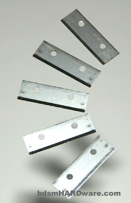 Replacement blades for strap cutter for leather craft
